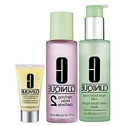 Clinique 3 step Deluxe Set: DDML 1 oz / 30 ml + Liquid Facia