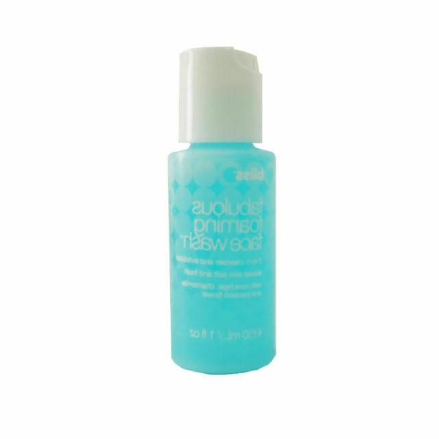 fabulous foaming face wash cleanser and exfoliator