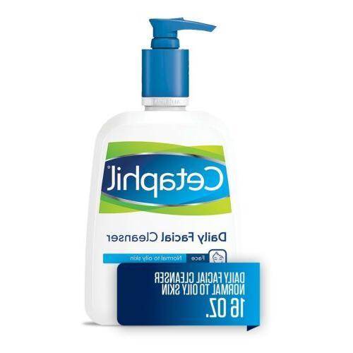 facial cleanser daily face wash for normal