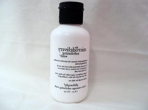 microdelivery exfoliating bottle