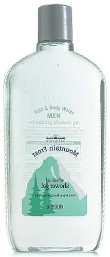 Bath & Body Works Men Mountain Frost Refreshing Shower Gel 1