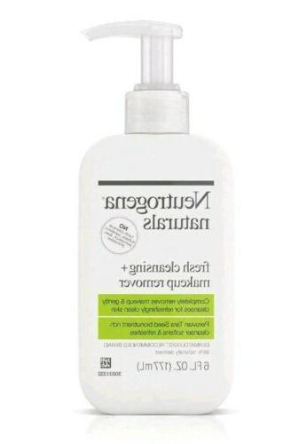 naturals fresh cleansing daily face wash makeup