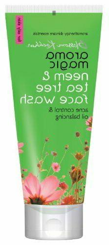 herbal neem and tea tree face wash