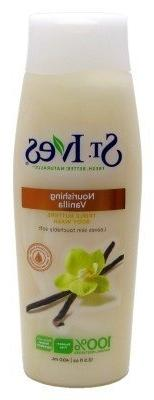 St Ives Body Wash 13.5oz Nourishing Vanilla Pack of 4