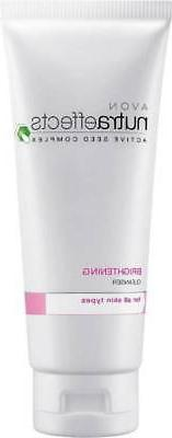 Avon Nutraeffects Brightening Cleanser Face Wash