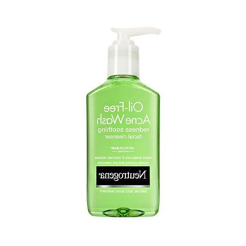oil acne wash