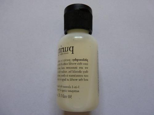 purity cleanser face eyes