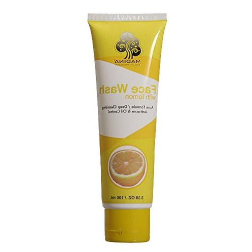 refining face wash scrub clean