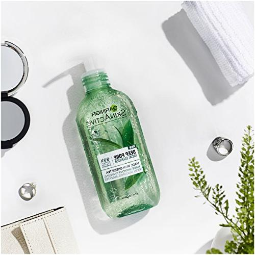 Garnier Face Wash with Green Skin,