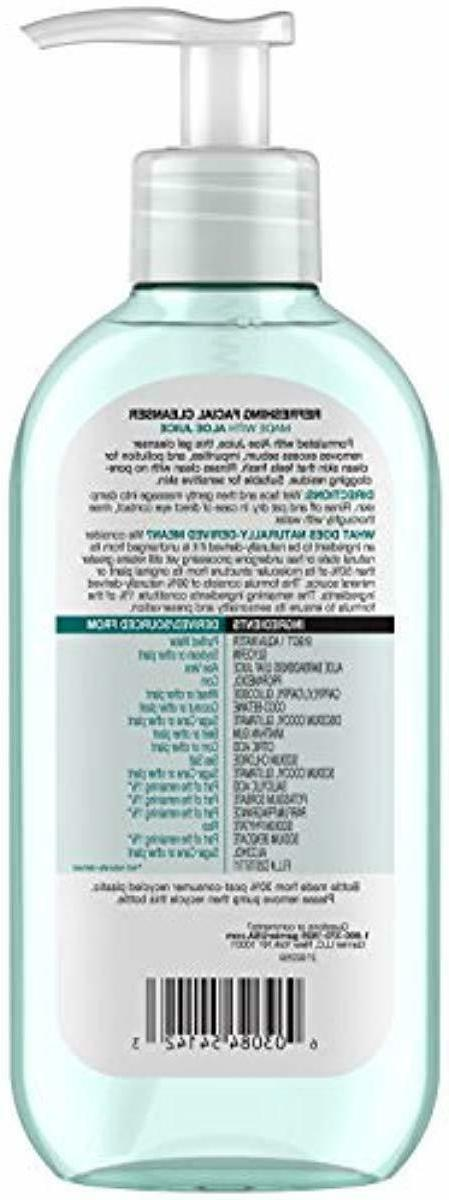 Garnier SkinActive Face with Juice, Dry Skin, oz. New