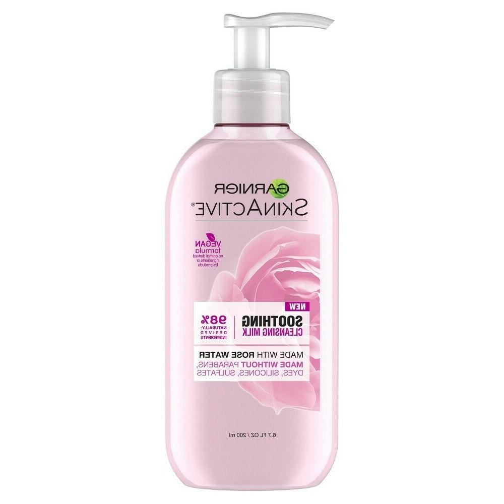 Garnier SkinActive Milk Face Rose