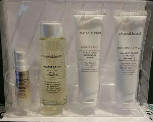 skinsorials trio of purifying facial cleansers new