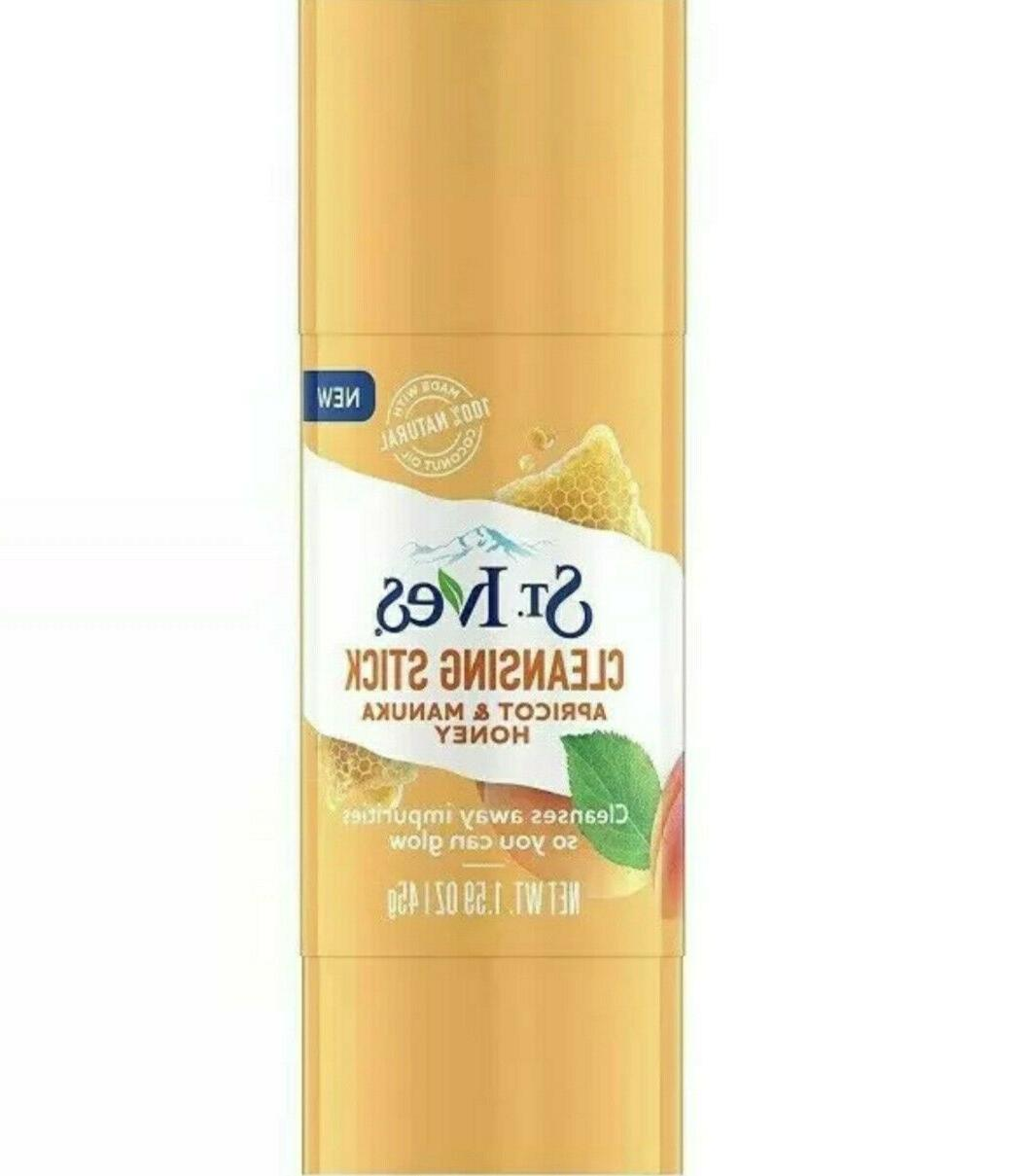st ives cleansing stick apricot and manuka