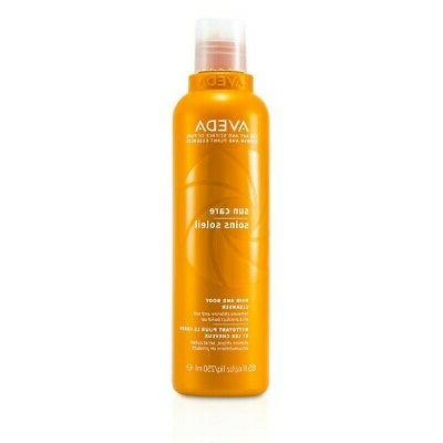 sun care hair cleanser
