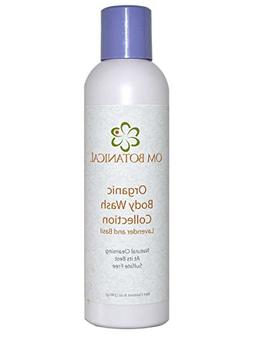 Organic Lavender & Basil Body Wash and Soap, All Nautral, Su