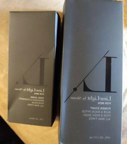 LimeLight By Alcone For Men Power Start Face/Body Wash & Coo
