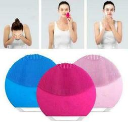 Lina Mini Face Skin Care Wash Cleansing Brush Device Beauty