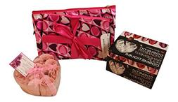 3 pc Love themed Make up accessory bundle Includes: 2 heart