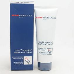 Clarins Men Active Face Wash  4.4oz/125ml New With Box