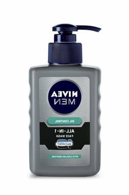 Nivea Men Oil Control All In One Face Wash Pump, 150ml free