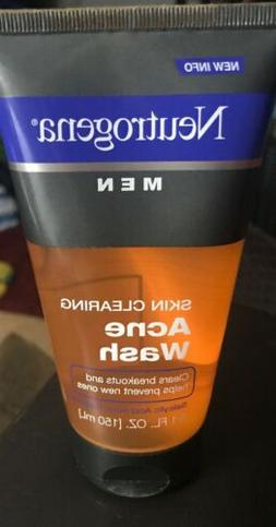Neutrogena Men Skin Clearing Daily Face Wash with Salicylic