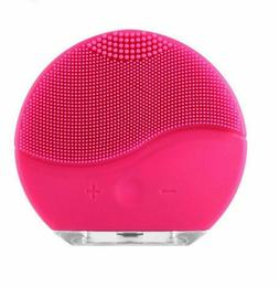 Mini 2 Face Skin Care Wash Cleansing Brush Device Beauty Fac