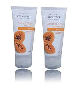 AVON NATURALS FACE CARE WHITENING CLEANSER PAPAYA FOR BRIGHT