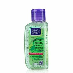 New Clean & Clear Morning Energy Face Wash Purifying Apple -