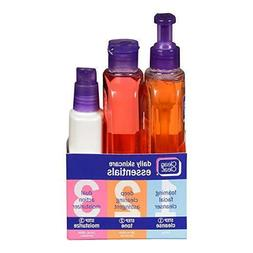 NEW Clean Clear Daily Acne Skincare Essentials Set W/Foaming