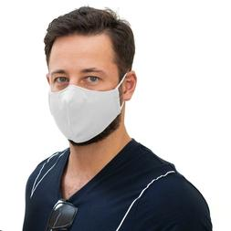 NEW White protection face mask Antimicrobial reusable machin