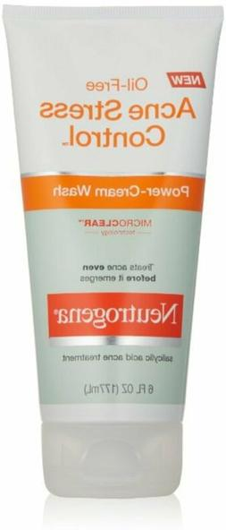 Neutrogena Oil-Free Acne Stress Control Power-Cream Face Was