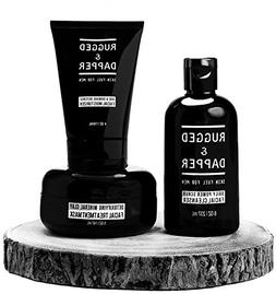 All-In-One Essential Skincare Set For Men - Grooming Kit - A