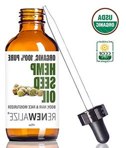 Renewalize Certified Organic Hemp Seed Cleansing Oil - Face