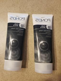 POND'S Pure White Pollution Out + Purity Facial FOAM 3.5oz E