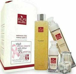 New Pur Attitude skin essentials 3 step system face wash moi