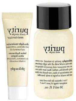 PhiIosophy Purity Made Simple Ultra Light Moisturizer & 3 in