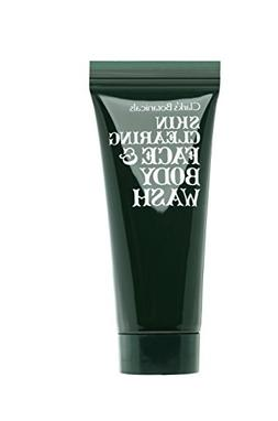 Clark's Botanicals Skin Clearing Face and Body Wash with Sal