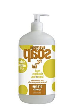 Everyone Soap for Every Kid, Orange Squeeze, 32 Ounce by Eve