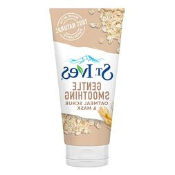 St.Ives Gentle Smoothing Oatmeal Scrub & Mask Facial Face Wa