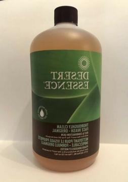 Desert Essence Thoroughly Clean Face Wash Cleanser 32 Oz Ref