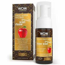 WOW Apple Cider Vinegar Face Wash - Reduce Acne - For Dry, O